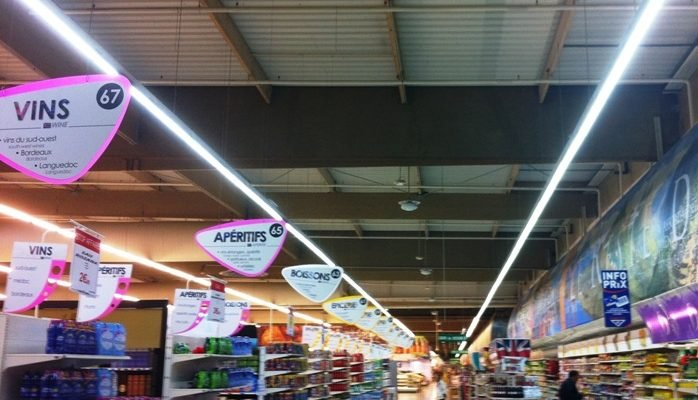 LED Linear Trunking System Project